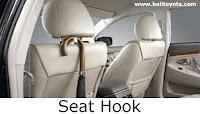 aksesoris camry: Seat Hook