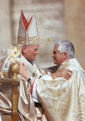 Blessed John Paul II &   Pope Benedict...