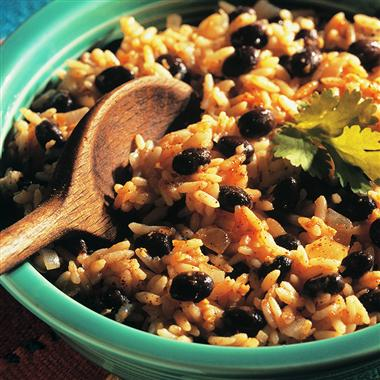 Food For Thought: Cuban style Black Beans and Rice