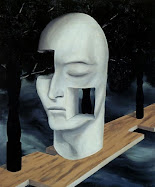 """The face of genius"" by Rene Magritte"