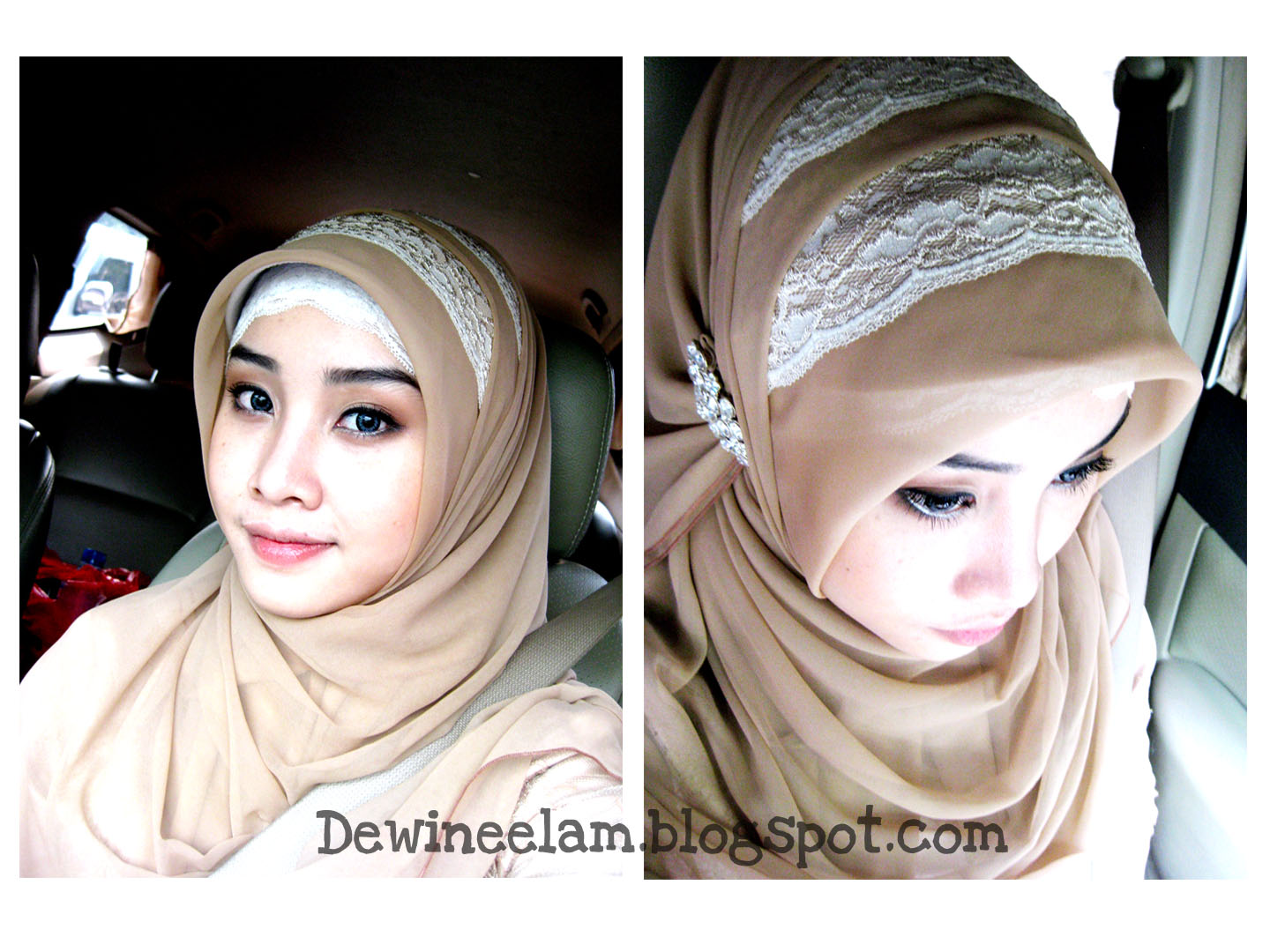 Dewi Neelam By Irna Hijab For Graduation Even Or Wedding
