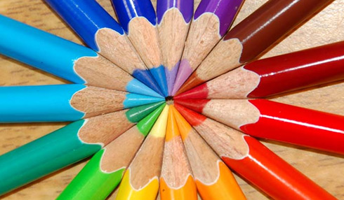 these are the colors in a color wheel