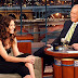 Katie Holmes on The Late Show Tonight!