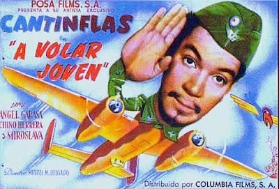 "VOLAR JOVEN con Mario Moreno ""Cantinflas"""
