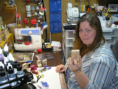 Me in my Stamp Room