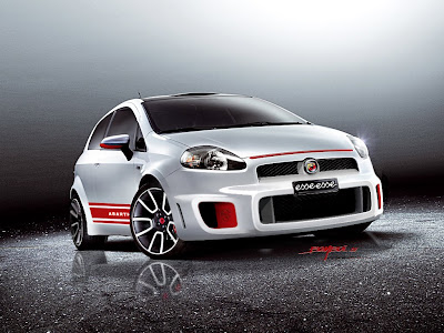 Fiat Punto Evo Abarth Car Wallpaper Free Front