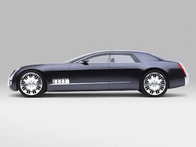 Cadillac Sixteen Concept Car Wallpaper Picture Side