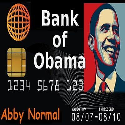credit card debt cartoon. on Obama#39;s Credit Card