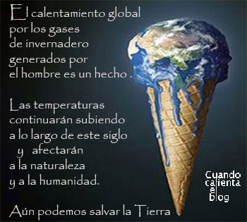 EL CALENTAMIENTO GLOBAL