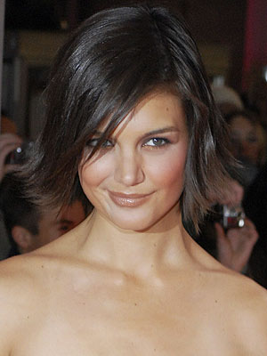 katie holmes wedding hair. Keeping my hair at