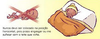 Qual a melhor posição para o bebê prematuro dormir?