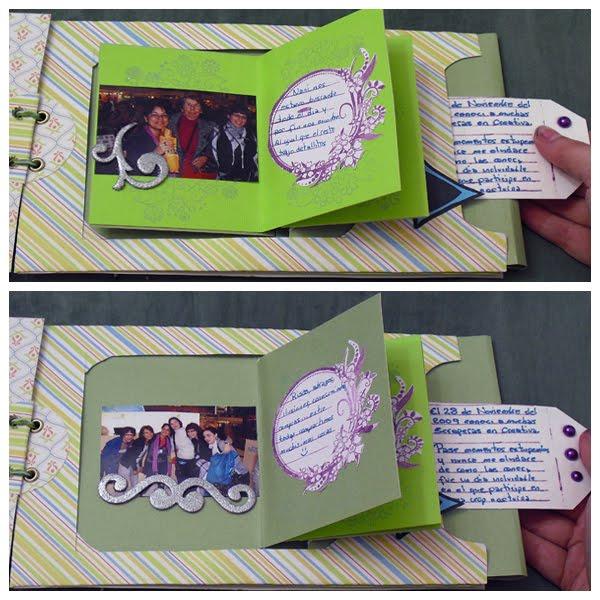 Manualidades victoria album feria creativa 2009 - Manualidades album de fotos ...
