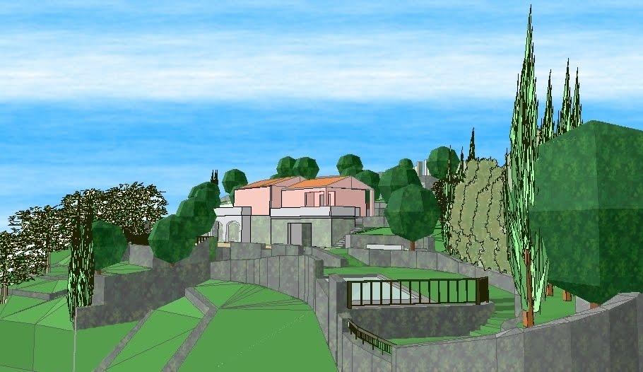 Verdiprogetti architettura del paesaggio progetto - Progetto giardino privato ...