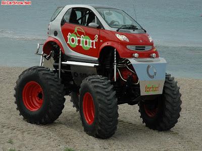 Smart ForFun2 a-la Monster Truck !