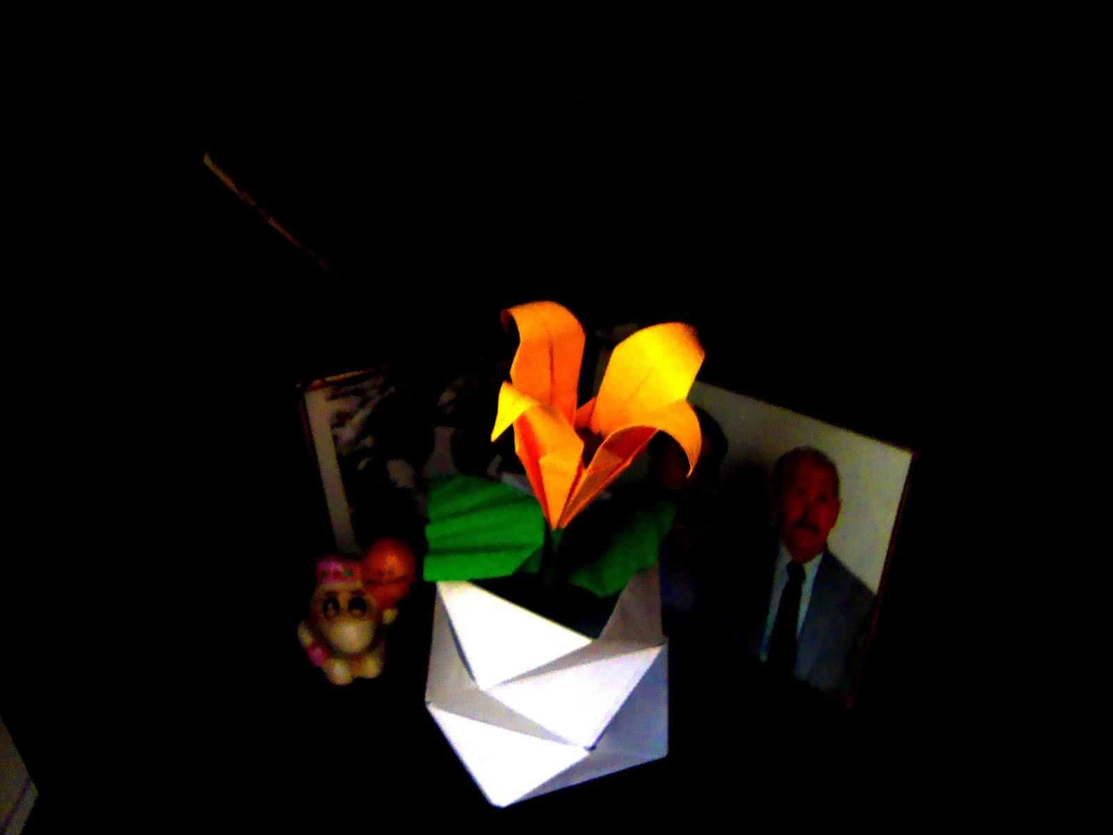 Origami by deuzaaa um dia maravilhoso para todos bjs - Origami para todos ...