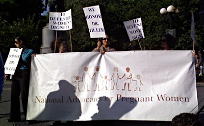 Banner for National Advocates for Pregnant Women