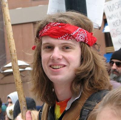 cute protester