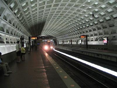 metro station in DC