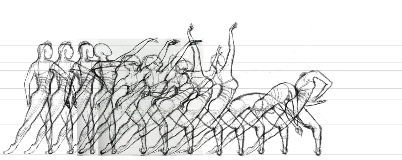 Dance and architecture erenyazicioglu for Body movement drawing