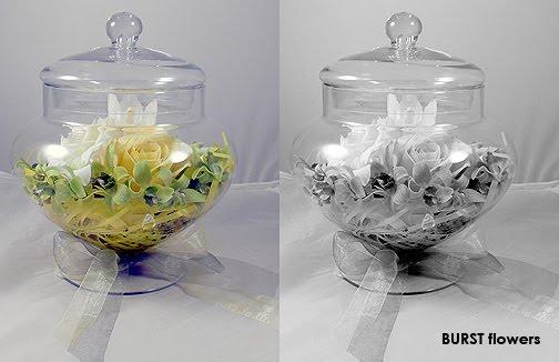 Burstflowers an upscale baby shower arrangement