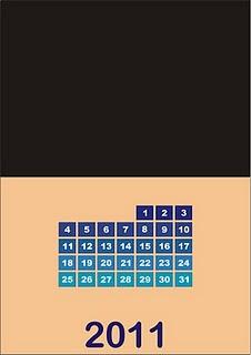 calendar,kalender,membuat kalender dengan corel draw
