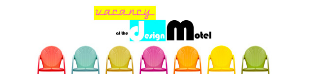 Vacancy at the Design Motel