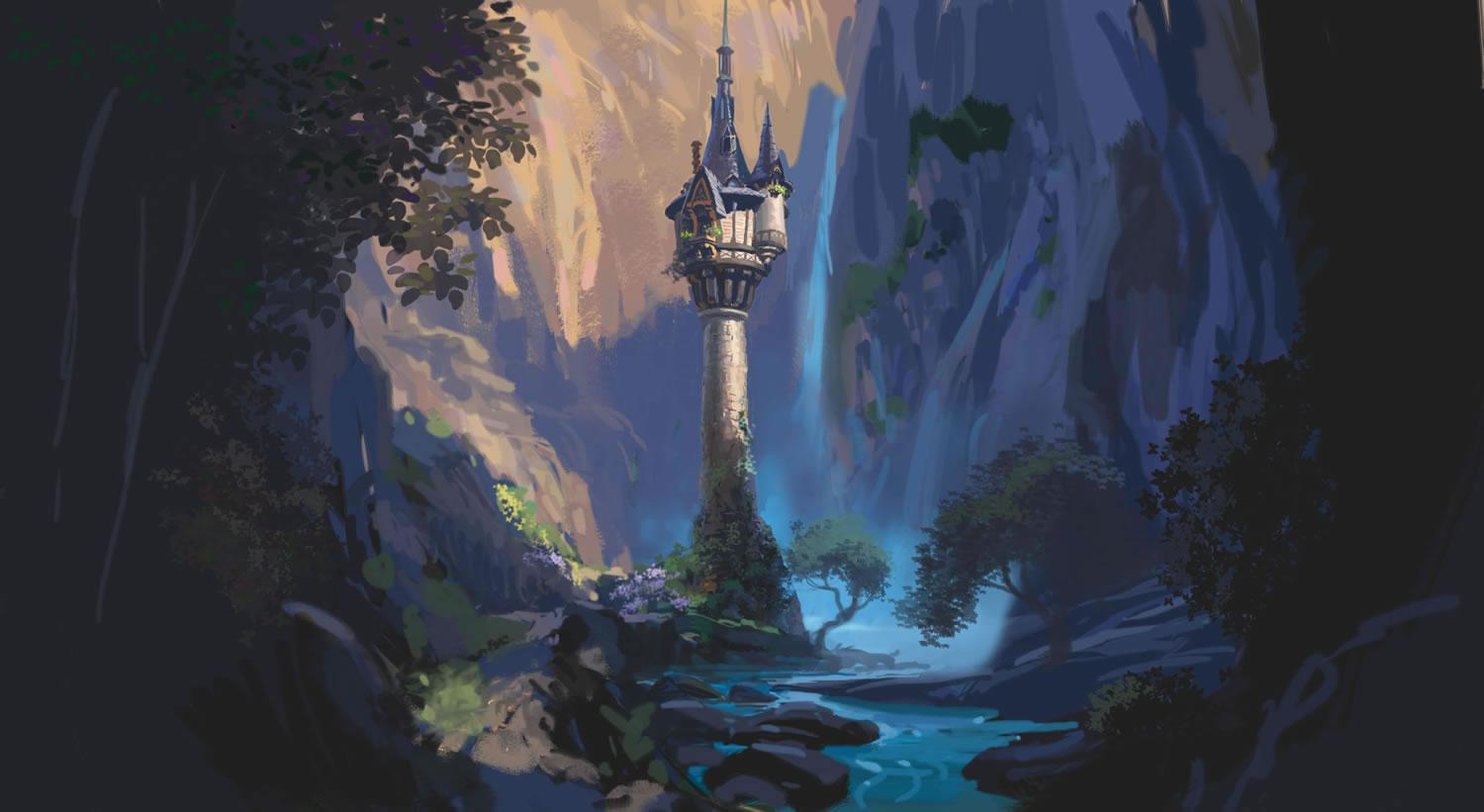 The Wanderings of a Dreamer: Rapunzel Concept Art