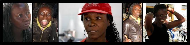Monique Mendy, danzas africanas - actriz (Senegal)