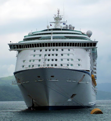Voyager Of The Seas At Labadee Haiti