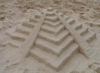 Chichen Itza Sand Castle