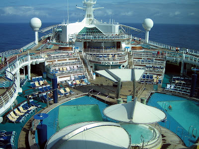 Explorer Of The Seas - Pool And Deck Areas