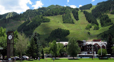 Aspen Colorado Wagner Park In Summer
