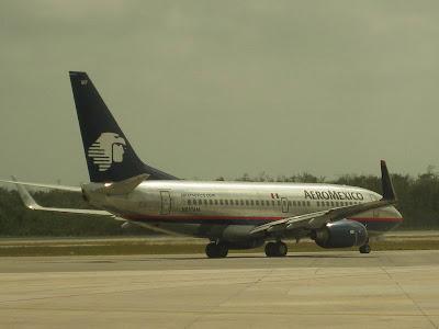 AeroMexico 737 Jet