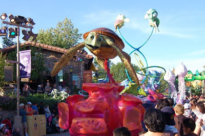 Finding Nemo Turtle Crush Parade Float