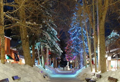 Aspen Walking Mall - Winter