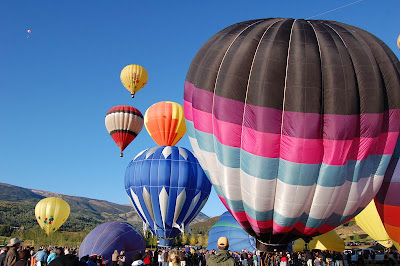 Hot Air Balloon Festival Photo