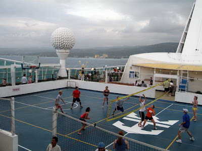 Voyager Of The Seas Sports Court