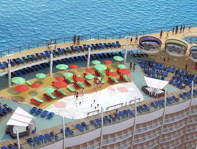 Beach Pool On Oasis Of The Seas