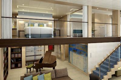 Oasis of the Seas Royal Loft Stateroom