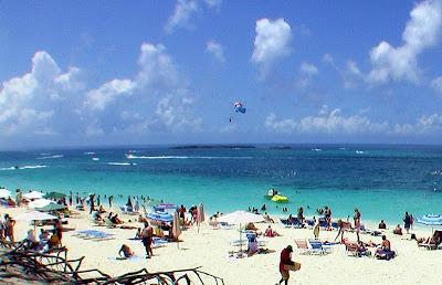 Paradise Island Bahamas Beach