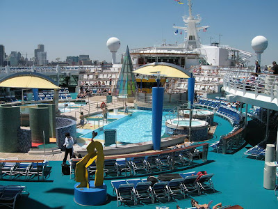 Voyager Of The Seas Pool Deck