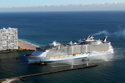 Oasis Of The Seas Arrives In Ft. Lauderdale