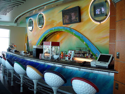 Cruise Ship Sports Bar On Explorer Of The Seas
