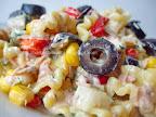 Salata de paste cu ton si tzatziki (reteta)