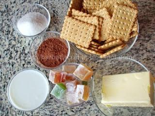 Salam de biscuiti ingrediente reteta