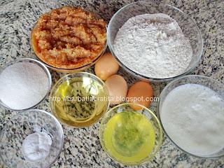 Prajitura cu gem si bezea Ingrediente