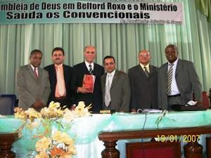 DICIONÁRIO É APRESENTADO AOS PASTORES DA CEADER - RIO DE JANEIRO