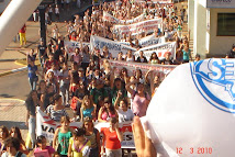Manifestação UMES sexta dia 12 de Março de 2010