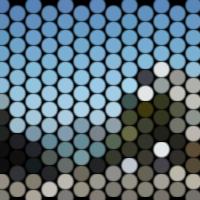 groovyで点状に変換した画像