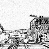 im4javaで木炭画調に変換した画像